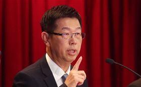 根據中國媒體報導,鴻海董事長劉揚偉(圖)與青島政府官員透過網路視訊聯繫的方式,雙方簽訂相關合作協定。(中央社檔案照片)