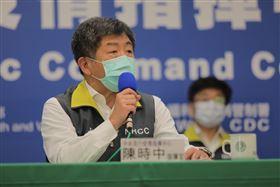 0416指揮中心 CDC提供  張上淳 陳時中 陳宗彥 莊人祥 周志浩 羅一鈞