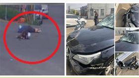 雲林公嬤雙載遭BMW撞飛雙亡 家屬徵求行車影像(圖/翻攝自斗六人文社交圈)