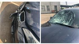 雲林公嬤雙載遭BMW撞飛雙亡 BMW(圖/家屬提供)