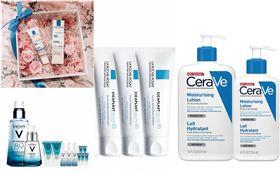 理膚寶水、薇姿與CeraVe適樂膚。(圖/品牌提供)