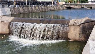 農委會補助治水患 永安圳水閘門啟用
