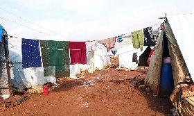 敘利亞西北部難民營地環境惡劣