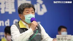 0418 CDC記者會 陳時中,張上淳,周志浩,國防部軍政副部長 張哲平