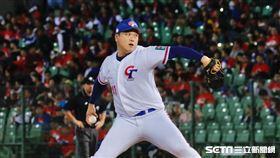 ▲世界棒球12強賽台灣日本中華隊廖乙忠。(圖/記者林聖凱攝影)