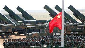 解放軍,中國,武統,戰爭,紅衛兵(圖/翻攝自新華網)