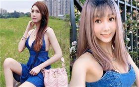 越南籍女星海倫清桃(桃子)。臉書