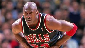 Michael Jordan,喬丹。(圖/翻攝自公牛官方推特)