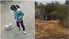 女童遭13歲堂哥性侵棄屍(圖/翻攝自微博)