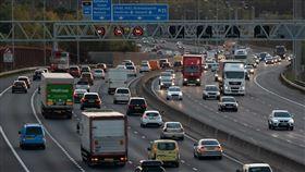 ▲英國M25公路。(圖/翻攝Motor1網站)