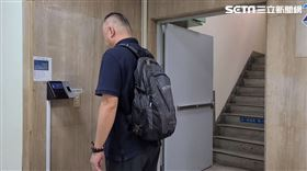 中市警人臉辨識防疫/翻攝畫面