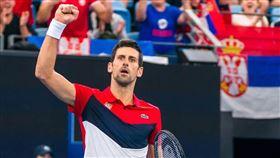 Novak Djokovic。(圖/翻攝自Novak Djokovic IG)