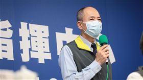 0420 CDC指揮中心國防部副司令梅家樹(圖/疫情指揮中心提供)