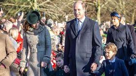 威廉王子跟凱特王妃/喬治小王子。kensingtonroyal IG