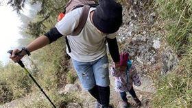 父母3歲童登玉山 圖/翻攝自PTT