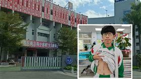泰北高中高三忠班學生楊澐坤(泰北高中提供)