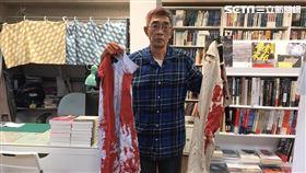 林榮基,潑漆,台北,銅鑼灣書店 記者李依璇攝影