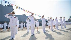 敦睦艦隊,海軍,女兵,要角(翻攝自 中華民國海軍 臉書)