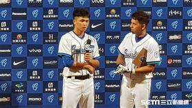 ▲富邦悍將左投陳仕朋拿下單場MVP。(圖/記者劉彥池攝影)