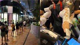 獨/崩潰!新加坡關手搖飲、理髮店 台人直擊分單雙號購物