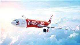 AirAsia亞洲航空。(圖/翻攝自AirAsia臉書)