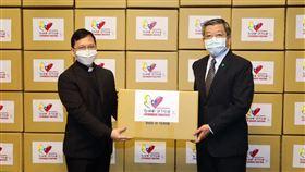 台灣再捐教廷20萬片口罩…外交部:力展台梵友誼堅實(圖/翻攝外交部官網)