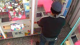 竊賊,景品,夾娃娃機,竊案,小偷,監視器,玩具,新北,中和