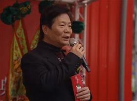 ▲劉炳偉出席板橋妙雲宮龍柱揭幕大典。(圖/翻攝YouTube)