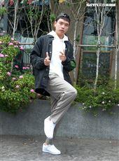 「上山下海過一夜」演員「網路紅人」八弟蕭志瑋。(記者邱榮吉/攝影)