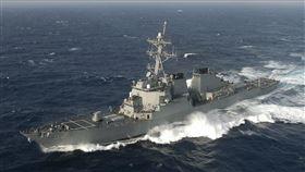 美軍伯克級飛彈驅逐艦貝瑞號(USS Barry - DDG 52) 圖翻攝自維基百科