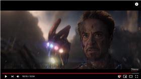 ▲鋼鐵人在《復仇者聯盟:終局之戰》犧牲。(圖/翻攝自Ælectrocutioner-Movieclips)