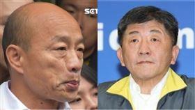 韓國瑜、陳時中(組合圖/記者林恩如攝影、資料照)