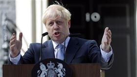 新上任的英國首相強生(Boris Johnson),圖/美聯社/達志影像
