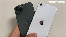 圖/記者谷庭攝,iPhone SE實測