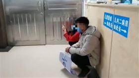 女嬰,中國,貴州,老鼠,咬傷,截肢(翻攝畫面)