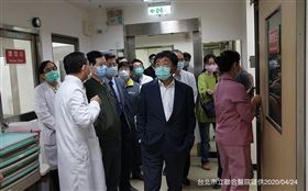 陳時中,和平醫院(圖/指揮中心提供)