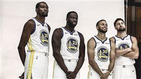 NBA/民調近8成認為勇士會奪冠! NBA,金州勇士,Kevin Durant,Stephen Curry,Klay Thompson,DeMarcus Cousins,Draymond Green 翻攝自推特