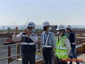 台中市政府建設局持續推動水湳國際會展中心與台中綠美圖新建工程(圖/台中市政府)