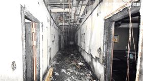 林森錢櫃,火警,內部畫面 消防局提供