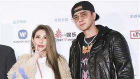潘瑋柏Alpha創使者世界巡迴演唱會2019台北站出席嘉賓羅志祥、簡愷樂。(記者林士傑/攝影)