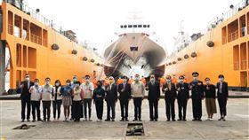 圖翻攝自海巡署網站,澎湖海巡隊3583艇交船儀式