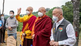 送暖救地球 法王、仁波切植樹捐50萬為疫情祈福