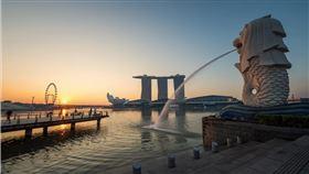 新加坡,封城,魚尾獅(圖/翻攝自Pixabay)