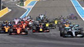 ▲F1法國大獎賽決定取消,集團預計今年下半年賽程安排。(圖/翻攝自推特)