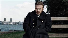 貝克漢合作的服裝品牌虧損破6億。(圖/翻攝自Kent & Curwen粉專)