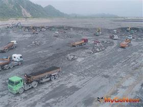 建商注意 水利署疏濬3000萬公噸,砂石場庫存增加供應穩定(圖/經濟部)