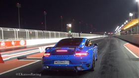 ▲Porsche 911 Turbo S(圖/翻攝自EKanooRacingTV Youtube)