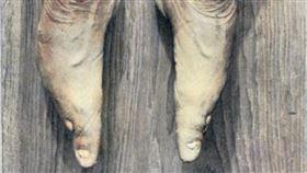 古代,宮廷,嬪妃,纏足,小腳。(圖/翻攝自維基百科由 Albert Friedenthal - Das Weib im leben der Völker; page 426, 公有領域, https://commons.wikimedia.org/w/index.php?curid=1895726)