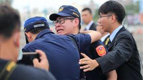 嘉義車站刺警命案,鐵路警察,李承翰 圖/翻攝自NPA 署長室
