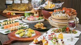 期許「5零確診」凱撒10家飯店餐廳祭出24小時5折優惠。(圖/業者提供)